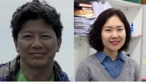 곽준명 그룹리더(왼쪽)와 김윤주 연구위원. - IBS 제공